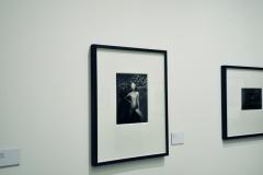 GUY BOURDIN - frühe Werke - Installationsansicht aus der Ausstellung im Haus der Photographie / Deichtorhallen Hamburg - 1.11.2013 - 26.1.2014 - Kurator Ingo Taubhorn