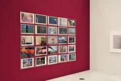 GUY BOURDIN - Charles Jourdan Kampagne - Installationsansicht aus der Ausstellung im Haus der Photographie / Deichtorhallen Hamburg, 1.11.2013 - 26.1.2014 - Kurator Ingo Taubhorn
