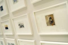 GUY BOURDIN - Polaroids - 1960-1980 - Installationsansicht aus der Ausstellung im Haus der Photographie / Deichtorhallen Hamburg - 1.11.2013 - 26.1.2014 - Kurator Ingo Taubhorn