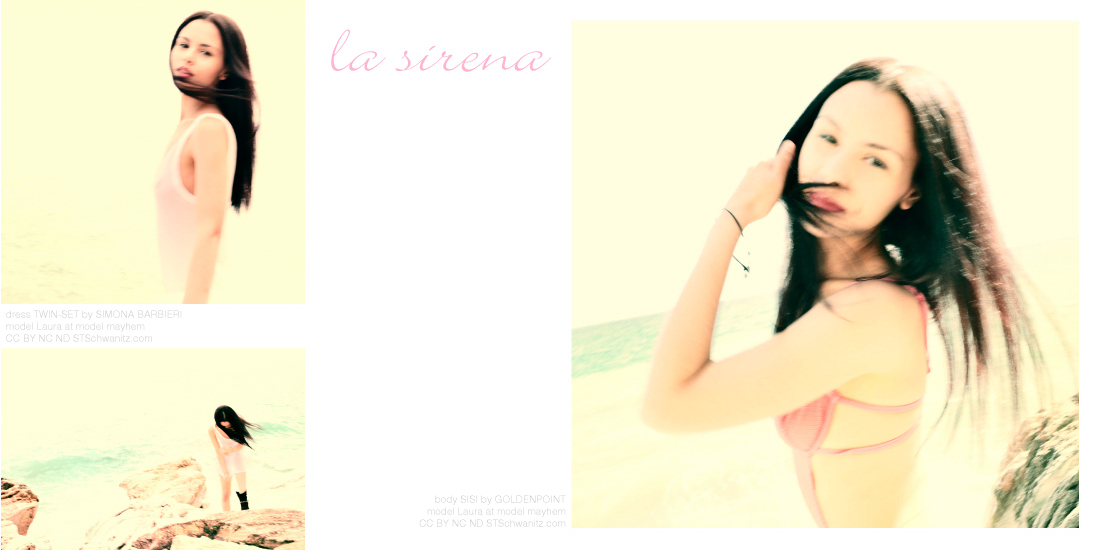 la sirena by STSchwanitz - editorial layout - model Laura at model mayhem - location Italy - Riviera dei Fiori