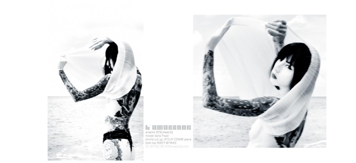 editorial photographie – amazzone – STSchwanitz – featuring model Ilaria