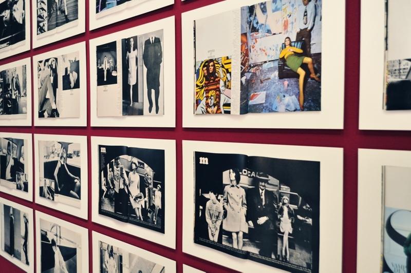 GUY BOURDIN for Vogue Paris - August 1966 - Cover - Installationsansicht aus der Ausstellung im Haus der Photographie / Deichtorhallen Hamburg - 1.11.2013 - 26.1.2014 - Kurator Ingo Taubhorn