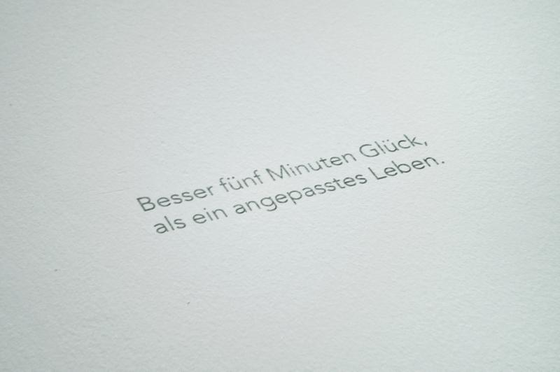 GUY BOURDIN - Zitat - Installationsansicht aus der Ausstellung im Haus der Photographie / Deichtorhallen Hamburg - 1.11.2013 - 26.1.2014 - Kurator Ingo Taubhorn