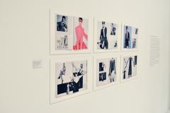 GUY BOURDIN - Prints Vogue Paris - Installationsansicht aus der Ausstellung im Haus der Photographie / Deichtorhallen Hamburg - 1.11.2013 - 26.1.2014 - Kurator Ingo Taubhorn