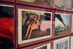 GUY BOURDIN - Charles Jourdan Kampagne - Ausschnitt - Installationsansicht aus der Ausstellung im Haus der Photographie / Deichtorhallen Hamburg - 1.11.2013 - 26.1.2014 - Kurator Ingo Taubhorn