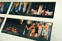 GUY BOURDIN for HUIT 8 paisley patternd - sights and wispers - Bloomingdale´s - 1976 - Installationsansicht aus der Ausstellung im Haus der Photographie / Deichtorhallen Hamburg - 1.11.2013 - 26.1.2014 - Kurator Ingo Taubhorn