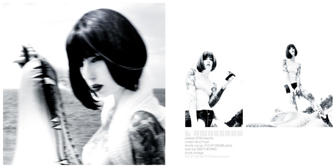 STSchwanitz - l´amazzone - photographie edition - model Ilaria Pozzi - Italy 2014