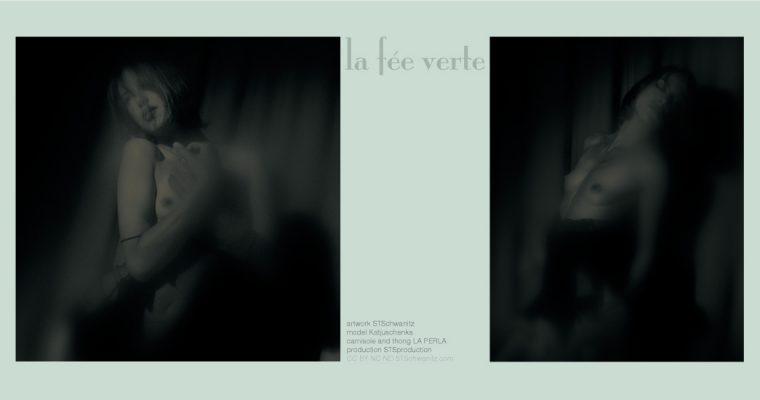editorial photographie – la fee verte – by STSchwanitz – featuring model Katjuschenka